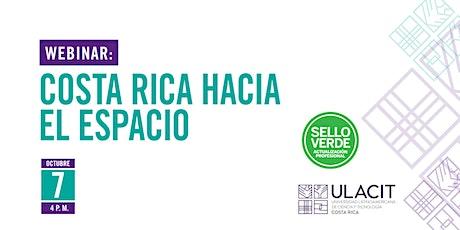 Sello Verde: Costa Rica hacia el espacio tickets