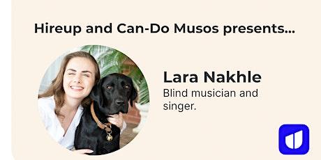 Hireup presents Lara Nakhle  - a virtual music gig tickets