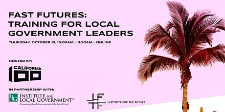 Fast Futures: Training for Local Government Leaders tickets