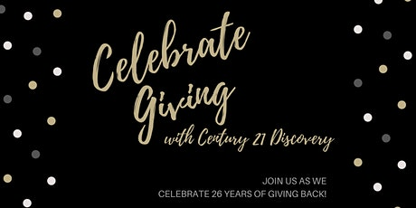 Celebrate Giving with CENTURY 21 Discovery tickets