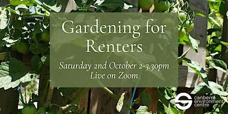 Gardening for Renters tickets