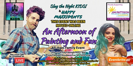 Slay the Night KIDS! Afternoon of Painting and Fun! tickets