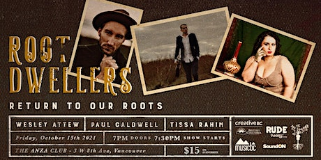 Return To Our Roots - Wesley Attew, Paul Caldwell, Tissa Rahim tickets