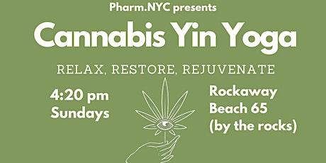 Cannabis Yin Yoga At The Beach tickets