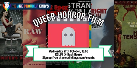 Proudly Social - Queer Horror Film tickets