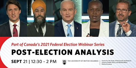 Post-Election Analysis tickets