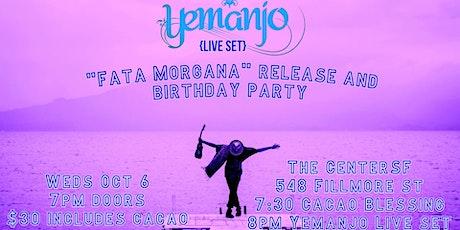 Yemanjo-- Live Set, EP release & Birthday Party tickets