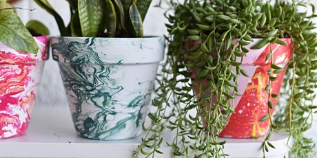 Marbled Pots - Made by You! tickets