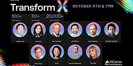 TransformX AI Conference 2021 tickets
