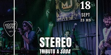 STEREO  TRIBUTO A  SODA STEREO tickets