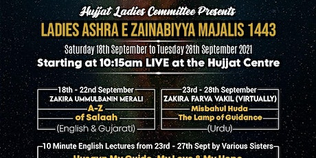 Day 6 (23/09/2021) - Ladies Only Morning Majlis 1443/2021 tickets