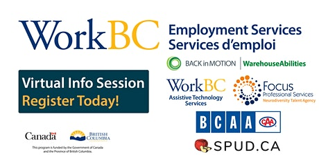 WorkBC VNE - Disability Employment Month Info Session & Hiring Event tickets