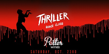 Thriller Dance Class + Parking Lot Flash Mob at Potter Wines tickets