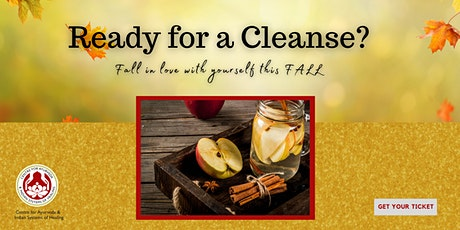 """""""FALL IN LOVE WITH YOURSELF THIS FALL"""" AN AYURVEDIC FALL CLEANSE WORKSHOP tickets"""
