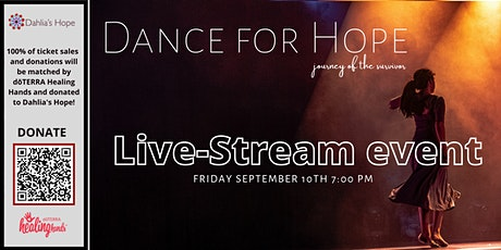 Dance for Hope - Live Stream - Benefit Performance - Oct 8th, 2021 tickets