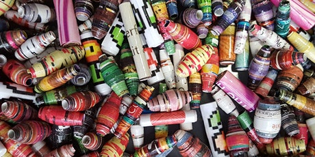 Recycled Paper Beads - Made by You! tickets