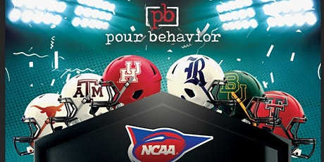 Pour Behavior : College Football Saturdays tickets