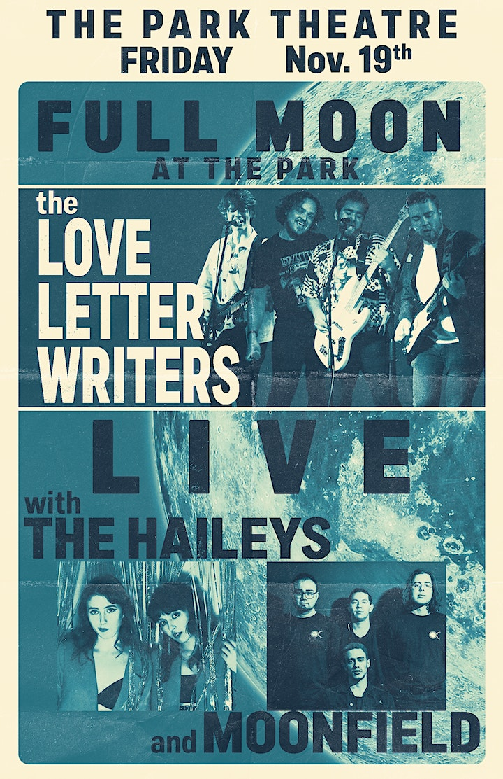 Full Moon at the Park - the Love Letter Writers, The Haileys & Moonfield image