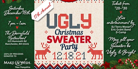 """17th Annual """"Ugly Christmas Sweater Party"""" tickets"""