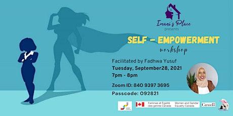 Self-Empowerment Workshop tickets