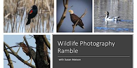 Wildlife Photography Ramble tickets
