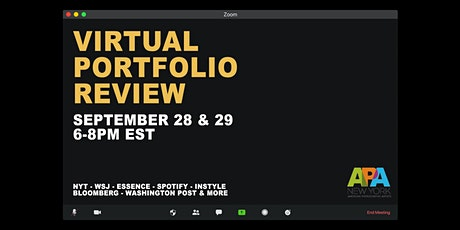 APA New York Virtual Portfolio Review tickets