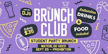 The Brunch Club - HOCO SATURDAY SPECIAL (Waterloo) tickets