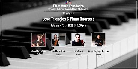 Love Triangles & Piano Quartets tickets
