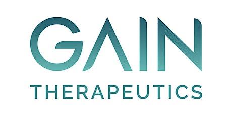 Gain Therapeutics, Inc.-Webinar 9/22/2021 tickets