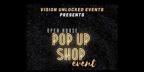Open House Pop Up Shop Event tickets