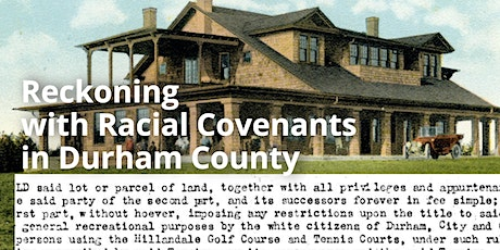 Reckoning With Racial Covenants tickets