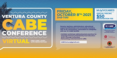 13th Annual Ventura County CABE Virtual Conference tickets