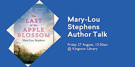 Mary-Lou Stephens Author Talk @ Kingston Library tickets