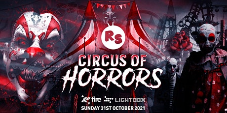 Regression Sessions : Circus of Horrors Halloween! tickets