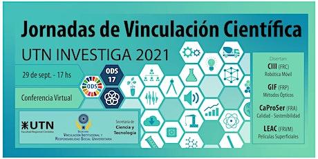 6° Jornada de Vinculación Científica  UTN Investig entradas