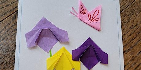 Origami Iris Flower & Butterfly (TEENS/ADULTS Paper Folding Craft Workshop) tickets