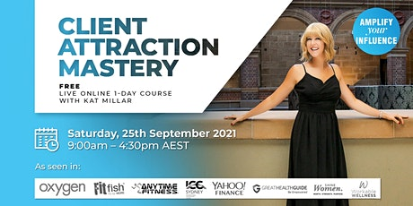 Client Attraction Mastery tickets