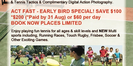 MULTI-SPORTS HOLIDAY CAMP tickets