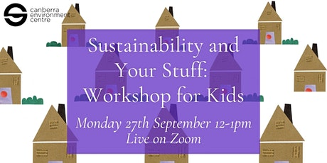 Sustainability and Your Stuff: Workshop for Kids tickets