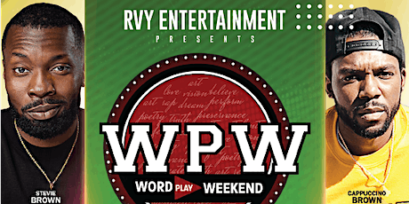 RVY Entertainment Presents: Word Play Weekend tickets