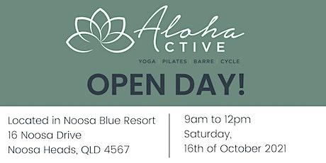 Aloha Active OPEN DAY tickets