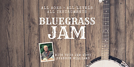 Bluegrass Jam - All Ages, All Levels, All Instruments tickets