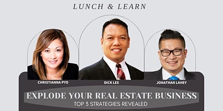 3 Strategies To EXPLODE Your Real Estate Business tickets