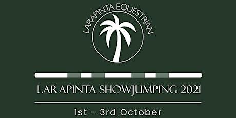 Larapinta Showjumping 2021 tickets