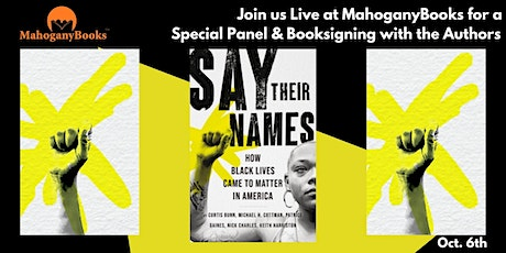 Say Their Names Author Panel and Booksigning tickets
