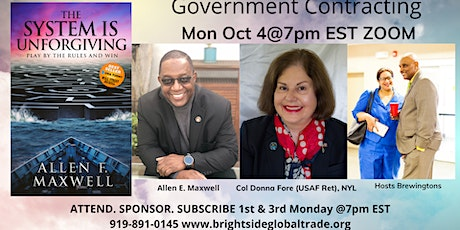 Government Contracting Professional Networking Event tickets
