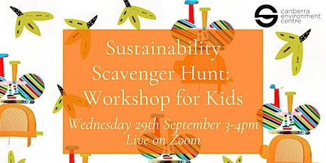 Sustainability Scavenger Hunt: Workshop for Kids tickets