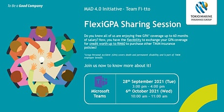 FlexiGPA Sharing Session tickets