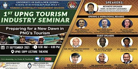 1st University Of Papua New Guinea Tourism Seminar tickets
