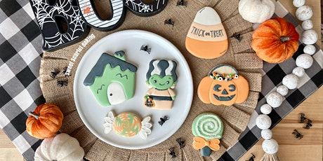 Halloween Adult Beginner Cookie Decorating Class tickets